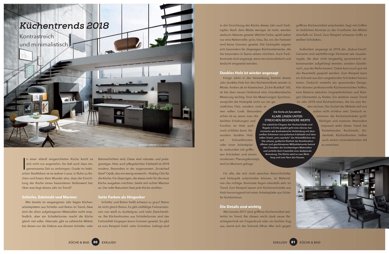 Küchentrends Exklusiv Einbauküchen Küchen Küchenstudio Berlin